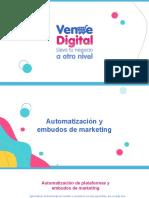 Automatización y embudos de marketing