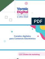 Canales digitales para Comercio Electrónico