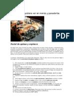 receta de pastel de quinua