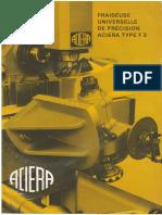 Caracteristiques Aciera F3