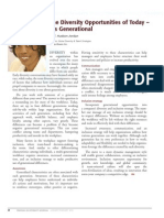 Diversity Journal | The Diversity Opportunities of Today - It's Generational - Jan/Feb 2010