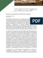 Semiótica e Informática De 1948 a la Actualidad