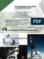 Las Ciencias Biológicas y de la Salud en la Unidad Iztapalapa UAM