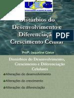 Patologia-Disturbios de crescimento celular