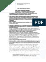 [FISIOLOGIA VEGETAL] Lista de exercício 2 - Relações Hídricas