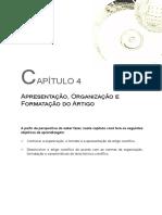 Apresentação, Organização e Formatação do Artigo