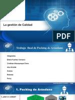 Proceo Packing Arándano Exposicion