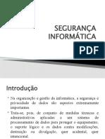 AULA DE SEGURANÇA EM INFORMÁTICA2018