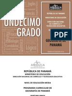 Programas Educacion MEDIA ACADEMICA Geografia Panama 11 2014