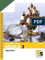 APUNTES DE MÚSICA TERCERO