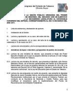 -Orden Del Dia 16-Mar-2011 ORD[1]