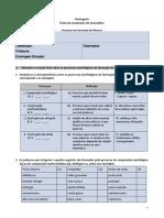 Ficha Processos Formação de Palavras 3CEB