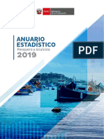 Anuario Estadistico Pesca y Acuicultura 2019