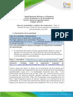 FFFFFFGuía de aprendizaje y rúbrica de evaluación - Unidad 3 - Paso 5 - Estudio de caso, trasnsición de los sistemas de produccióm convencionales