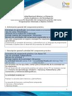 Guía para el desarrollo del componente práctico - Unidad 3 - Fase 4 - Práctica - Herencia y BD