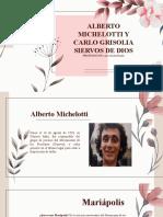 Siervos de Dios Alberto Michelotti y Carlo Grisolia