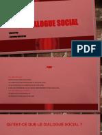 Le Dialogue Social PPT