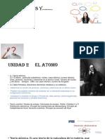 UNIDAD 2     EL ATOMO