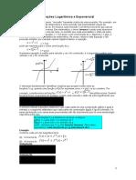 Funções Logarítmica e Exponencial