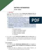 Practica 04 - Estadistica