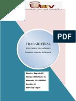 Evaluacio Puesto de Secretaria Administrativa 2