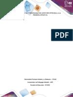 POLÍTICAS Y PROGRAMAS DE ATENCIÓN INTEGRAL A LA PRIMERA INFANCIA
