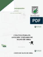 SESIÓN 6- APU MANO DE OBRA