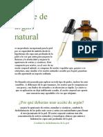 Aceite de argán natural punto 3