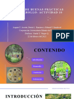 Análisis de buenas prácticas de desarrollo- Actividad 10