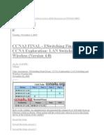 ccna 3 v4.0 Final exam