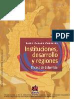 Parada Corrales, J. Instituciones, desarrollo y regiones