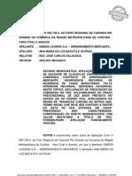 TJPR arrendamento mercantil devolução do VRG pela locadora