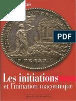 Mainguy Irène - Les Initiations et l'initiation maçonnique
