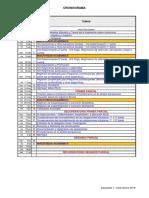 Cronograma Impuestos 2021