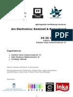 Program konferencji Ars Electronica