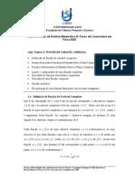NotasdeAulasdeAnaliseMatematicaIIIEAD2021A3FuncaodeVariavelComplexa1
