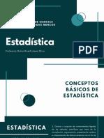 01- Estadística