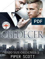Piper Scott - Serie Bajo sus órdenes 1