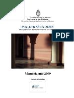 Memoria 2009 PSJ