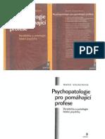 Marie Vágnerová Psychopatologie pro pomáhající profese
