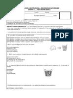 EVALUACION INSTITUCIONAL DE CIENCIAS UNIDAD 1. (1)