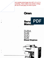 MEP003A Manual for 10kW Military Diesel Generator | Mechanical