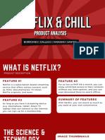 NETFLIX PRODUCT ANALYSIS