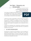 06 - TERCEIRO SETOR - BUSCANDO UMA CONCEITUAÇÃO