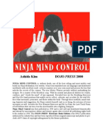Citadel Press - 2000 - Ninja Mind Control - ISBN 080650997X - 69s