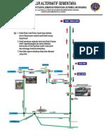 Jalur Alternatif Bjm-hulu Sungai via KM. 71 Talenta Rev
