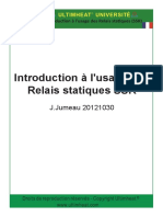 Introduction to the use of solid state relays (SSR)FR20140218