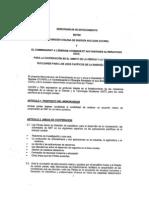 Memo Entendimiento Nuclear CHILE-FRANCIA (FEB 2011)