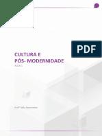 Cultura e Pós-Modernidade - Aula 01 - Uninter
