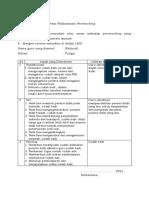 LK 2.2. Lembar Observasi Pelaksanaan Peerteaching
